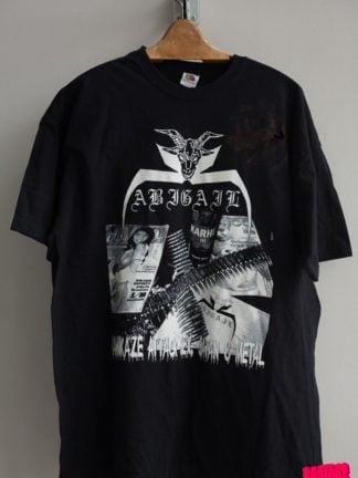 Abigail Finland Tour Shirt 2007