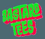 Bastard Tees Logo Round Small Halftone Green