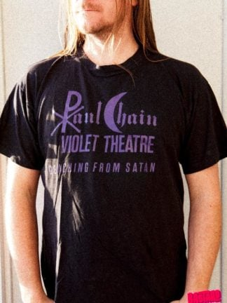 Paul Chain Detaching from Satan Bastard Tees Used Band Shirts