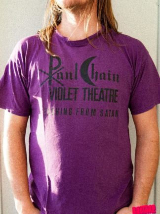 Bastard Tees Used Band Shirts Paul Chain Detaching from Satan back side