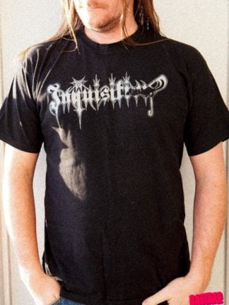 Clandestine Blaze Church of Atrocity Bastard Tees Used Band Shirts