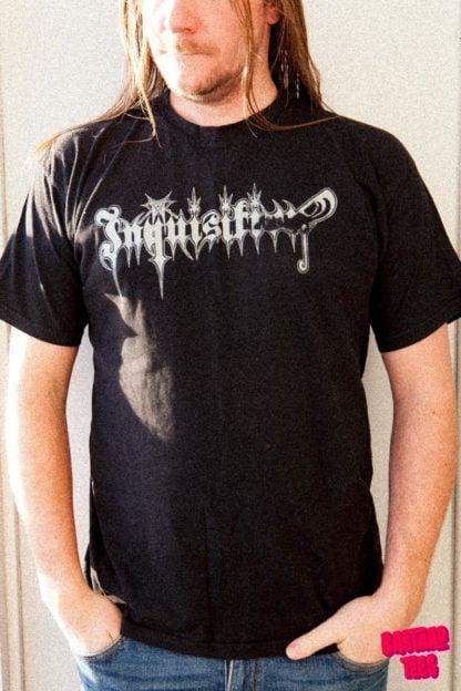 Clandestine Blaze Church of Atrocity Bastard Tees Used Band Shirts