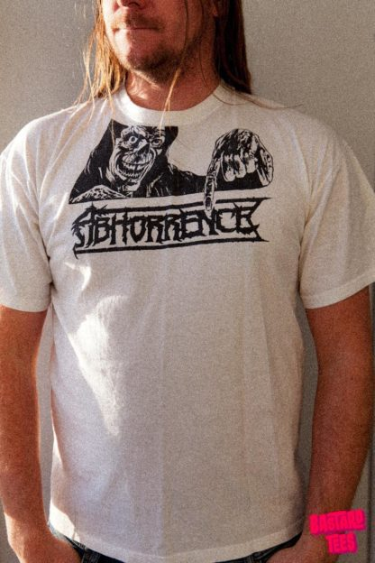Abhorrence Bastard Tees Used Band Shirts